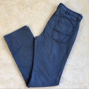 L.L Bean standard fit blue pants 32